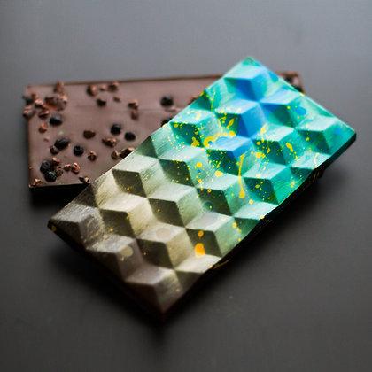 Blueberry Crunch Chocolate Bar