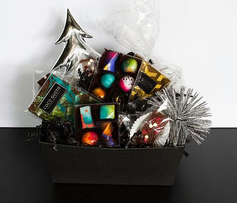 Holiday Chocolate Gift Basket