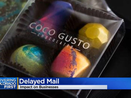 Coco Gusto In The News - USPS Shipping Delays