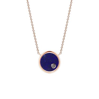 The Alkemistry 18ct gold 'Orion' Virgo necklace
