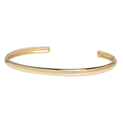 Zoe Chicco 14ct gold half open round cuff