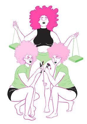 'Creative Women' Print