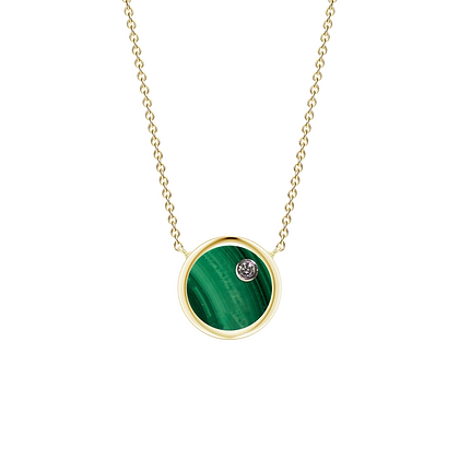 The Alkemistry 18ct gold 'Orion' Taurus necklace