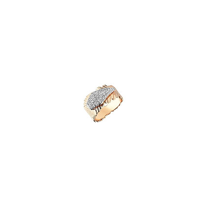 Kismet by Milka 14ct rose gold dagger pinky ring