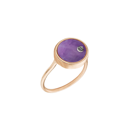 The Alkemistry 18ct gold 'Orion' Aries ring