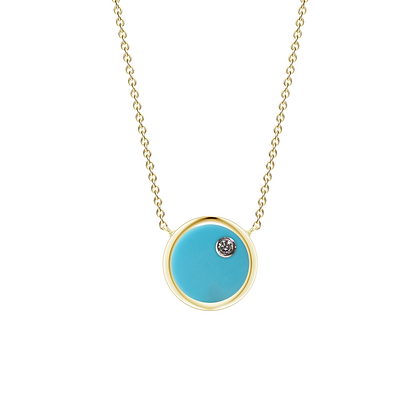 The Alkemistry 18ct gold and diamond 'Orion' Sagittarius necklace