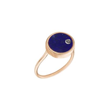The Alkemistry 18ct gold 'Orion' Virgo ring