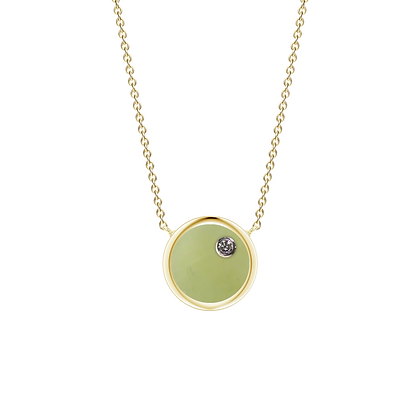 The Alkemistry 18ct gold 'Orion' Leo necklace