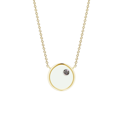 The Alkemistry 18ct gold 'Orion' Cancer necklace