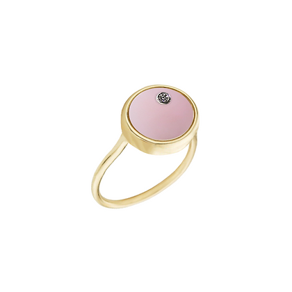 The Alkemistry 18ct gold 'Orion' Libra ring