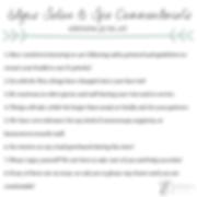 Edges Salon and Spa Commandments.png