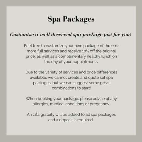 Edges Spa Packages
