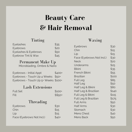 Edges Beauty Care & Hair Removal Prices