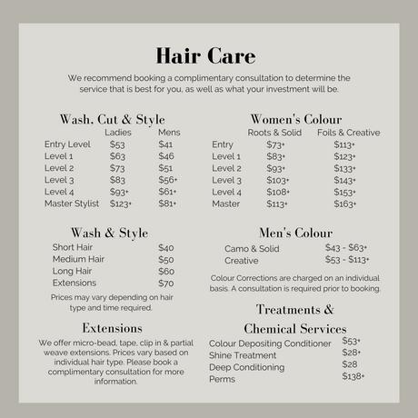 Edges Hair Care Prices