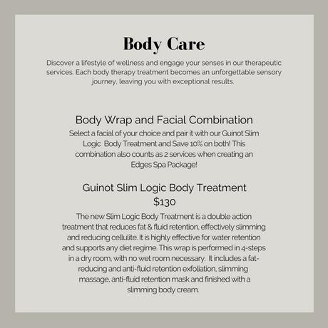 Edges Body Care Prices