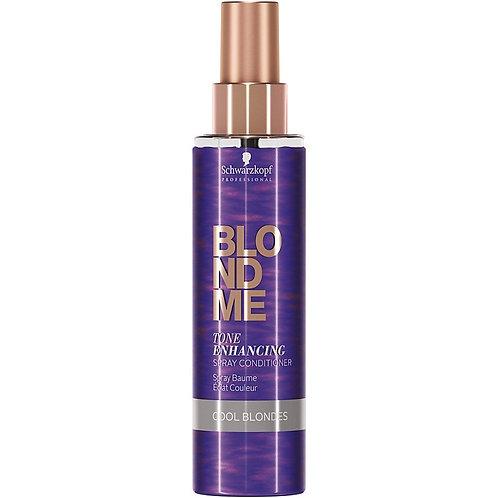 Schwarzkopf BLONDME Tone Enhancing Spray Conditioner - Cool Blondes