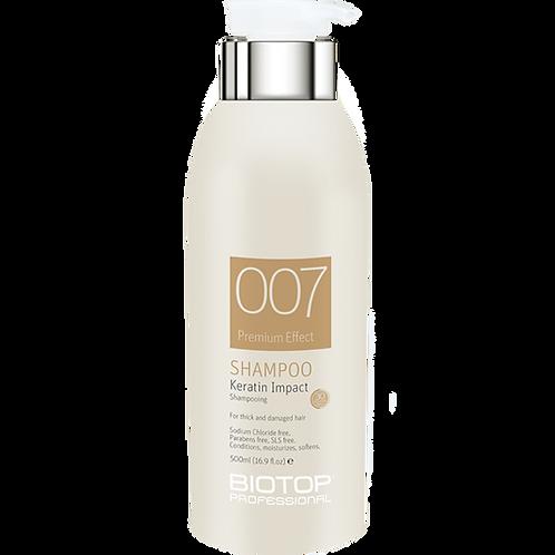 Biotop 007 Keratin Shampoo