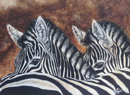 """""""I Have Your Back"""" SOLD - Prints Available Contac"""