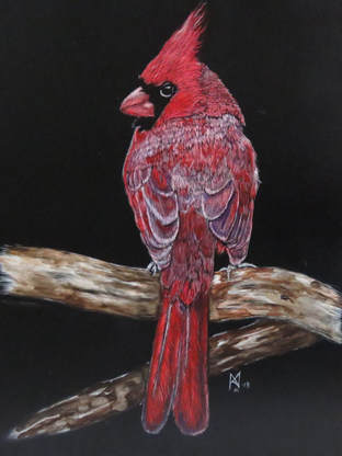 """""""Royal Red"""" SOLD - Prints Available Contact Me"""