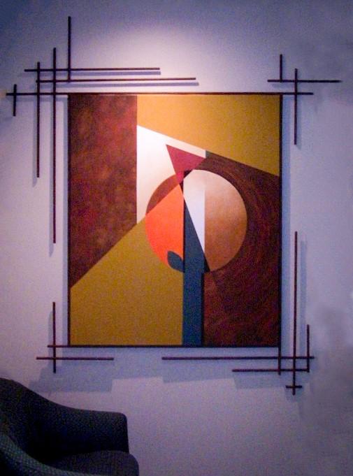 Concrete Y rod frame
