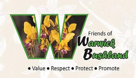 Friends of Warwick Bushland logo