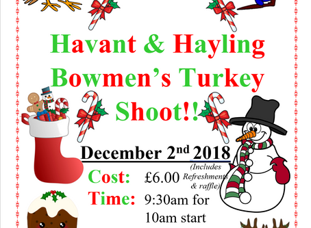 Havant & Hayling Bowmen's Turkey Shoot!!