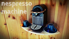 Nespresso machine filled daily