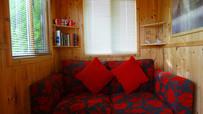 Comfy sofa area