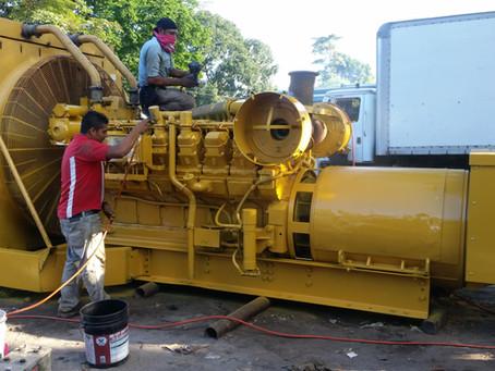 Reparación de todo tipo de generadores y motores.