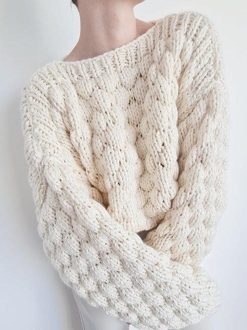 Bubble 100% Wool Knit