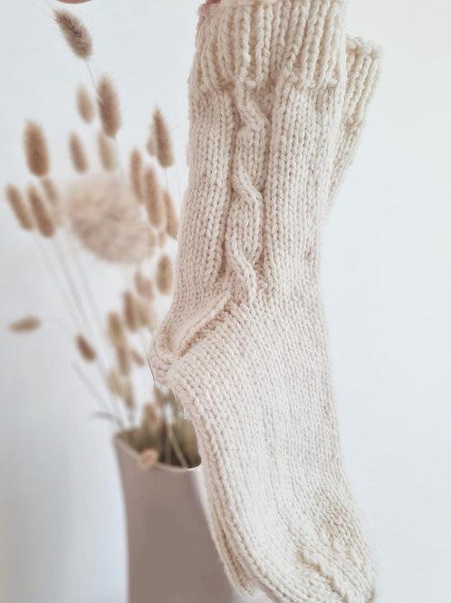 100% Wooly Socks