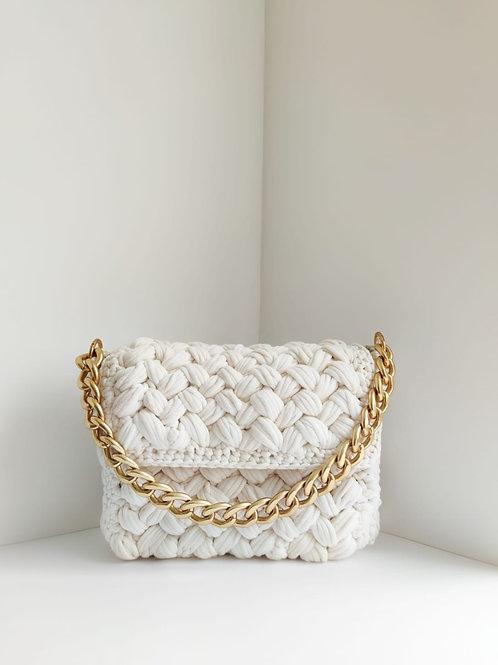 Hand-knitted Shoulder Bag