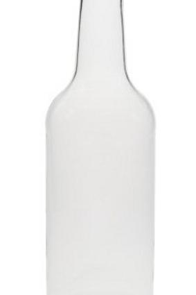 Mango Lassi Krugflasche 350 ml weiß (Klarglas) +PP 28 gold Deckel