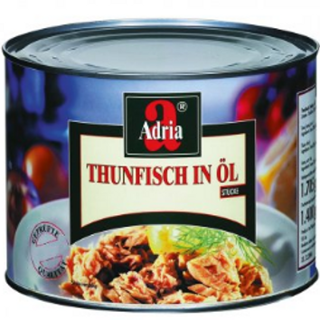 Thunfisch in Öl(Adria) VE 6 x 1705gDose