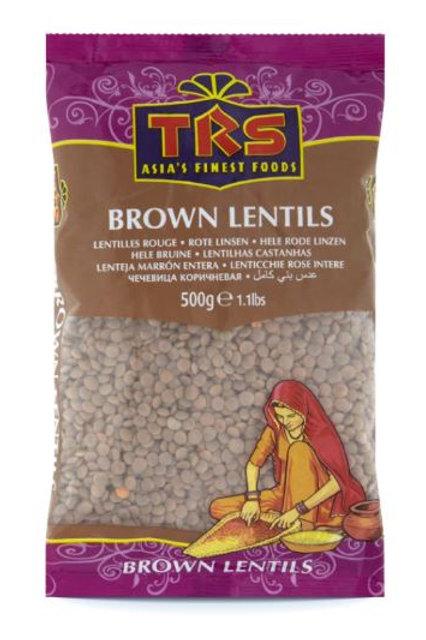 TRS Brown Lentils 500 gm