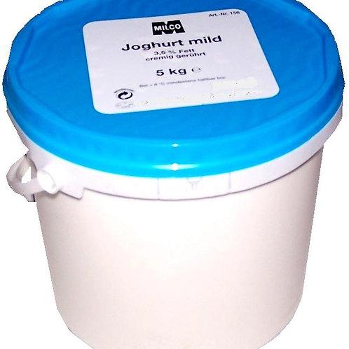 Joghurt Mild 3,5% Fett 5kg Eimmer