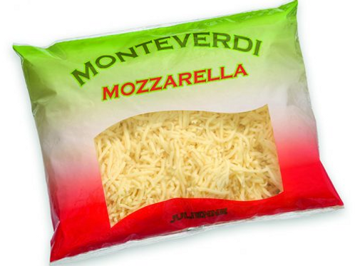 Mozzarella Käse Würfel (Jäger) 5 x  2kg Packung