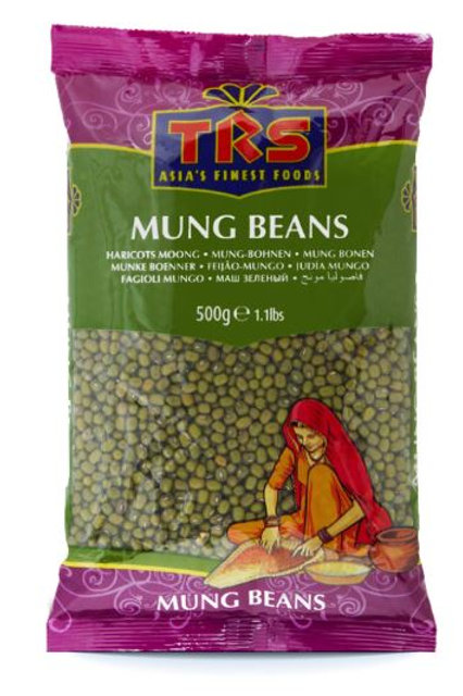TRS Mung Beans Whole 500gm