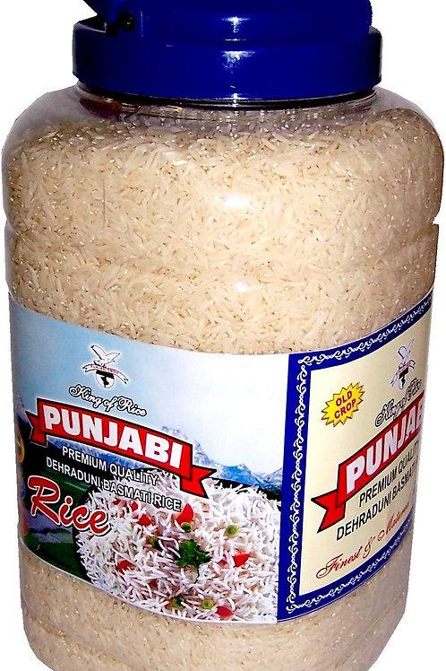 Punjabi Basmati Reis Dehraduni 5 Kg Jar