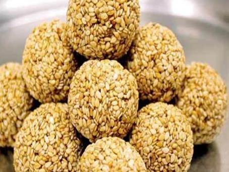 Sesame Seeds (Til) Laddoo