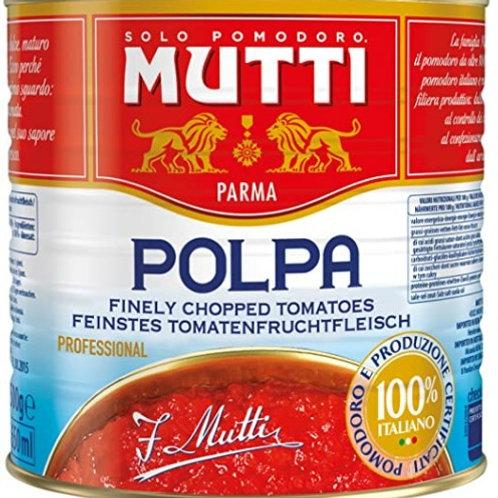 Polpa Tomatoes (Mutti)    VE 3x 4.2kg Pack