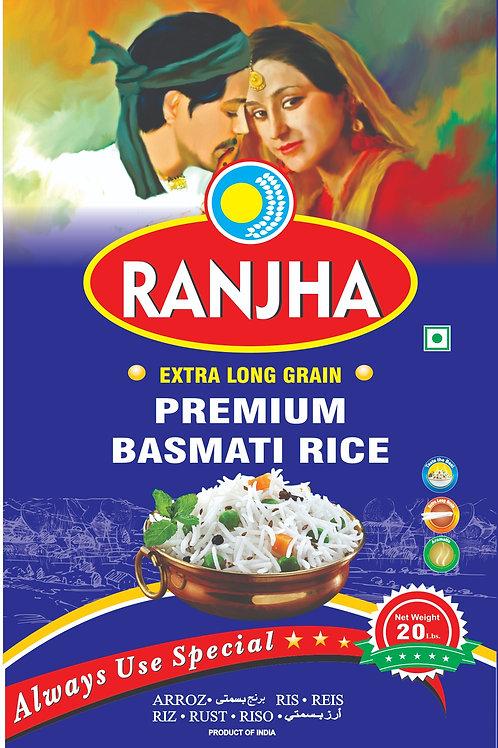 Premium  Basmati Reis 20kg (Ranjha)