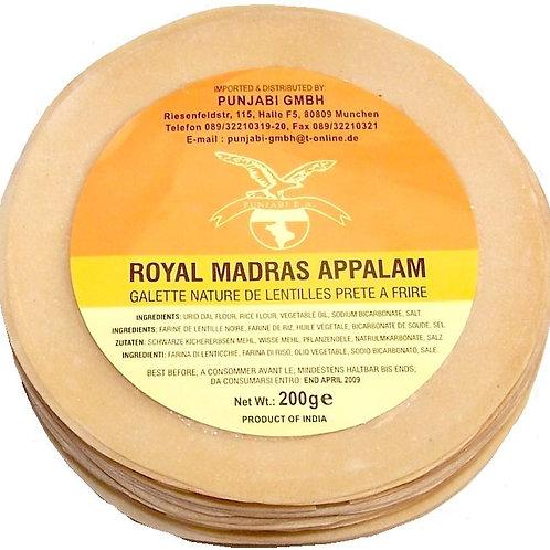 Punjabi Royal Madras Papad Plain