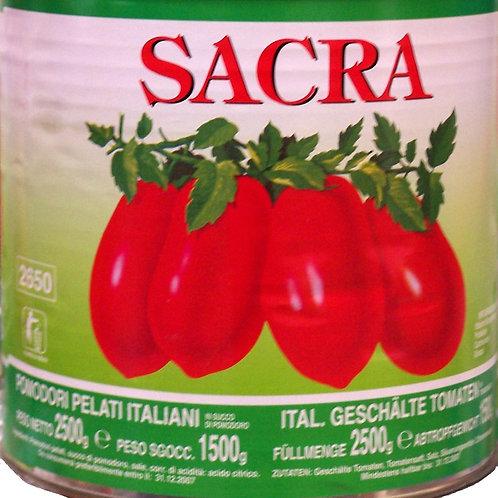Pelati (geschälte Tomaten) (Sacra)