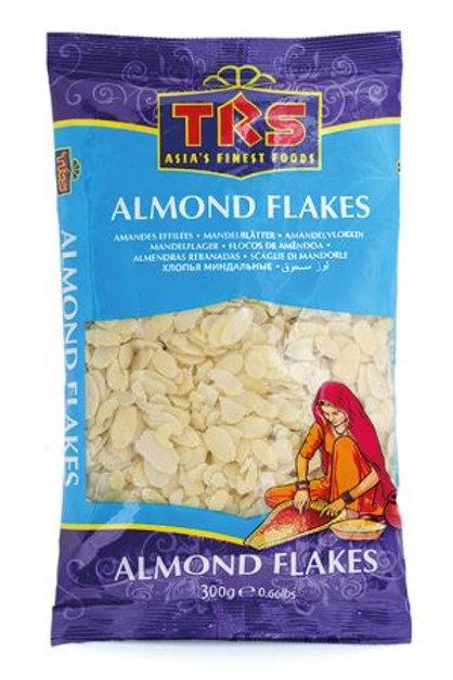 Badam MANDELN DÜNN GEHOBELT  (Almond Flaked) (TRS) 10 x 300g Packung