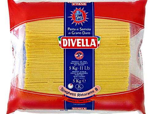 Spaghetti Divella 3 x 5kg Packung