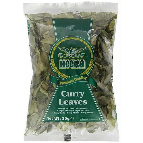 Curry Leaves (HEERA) VE 10 x 30g Packung