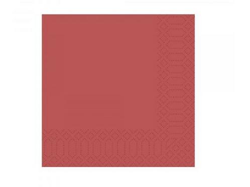 Zelltuchservietten Bordeus AG-128 3-lg-1-4-Falz- (40x40cm) 250-Stck