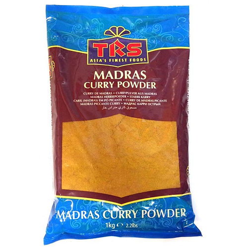 Curry Powder Madras  (Curry Pulver Scharf) (TRS)  6 x 1kg Packung