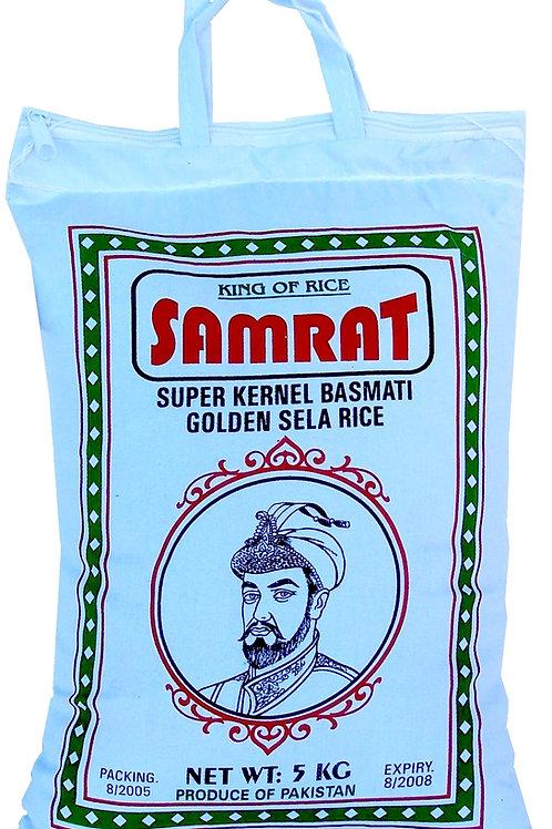Samrat Super Kernel Basmati Golden Sela Rice